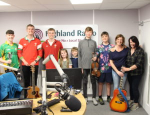 Just finished live session on Highland Radio, Ireland